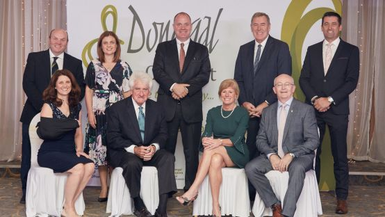 Pictured at the Tip O Neill Awards night are members of the International Advisory Group