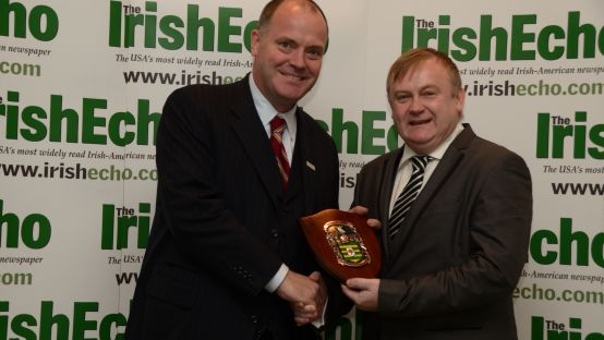 Image of Anthony O'Callaghan & Cllr. Dessie Larkin
