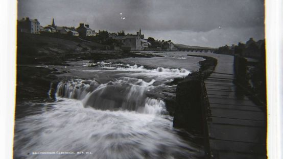 Image of Ballyshannon from the water