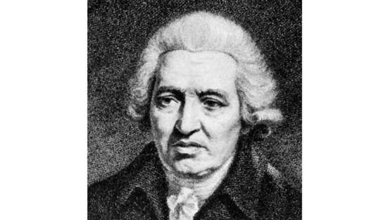 Black and White image of Charles Macklin
