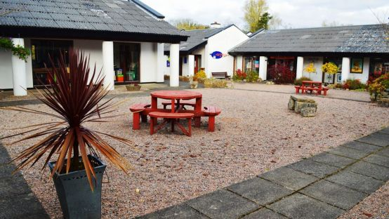 Image of the newly refurbished Craft Village in Donegal Town