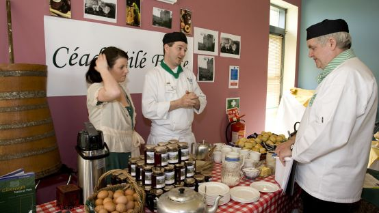Image of people at Killybegs Catering College