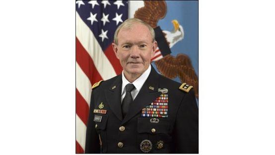 General Martin E Dempsey in uniform