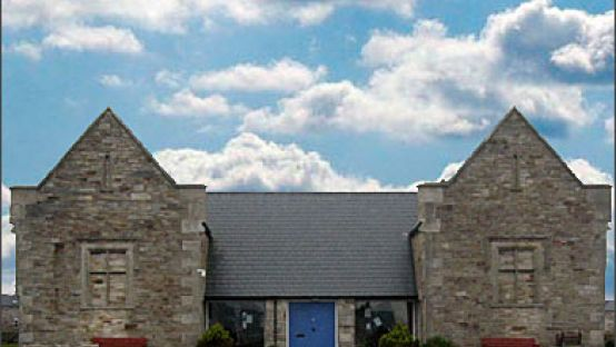 Image of front of Dunfanaghy Workhouse Heritage Centre