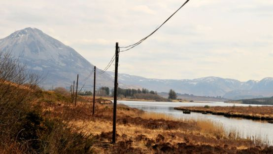 Image of Errigal taken from the Gweedore road