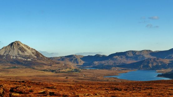 Image of Mount Errigal and the Poison Glen