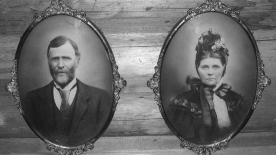 Black and White image of Paddy and Mary Doherty