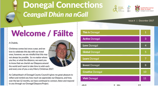 Donegal Connections Ezine - December 2017