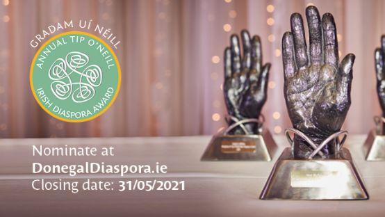 Nominations Now Open For Tip O'Neill Irish Diaspora Awards 2021