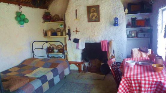 Traditional Fisherman's Cottage in Glencolmcille Folk Village