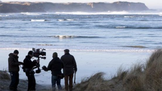 Image of Film Crew on Location, Inishowen