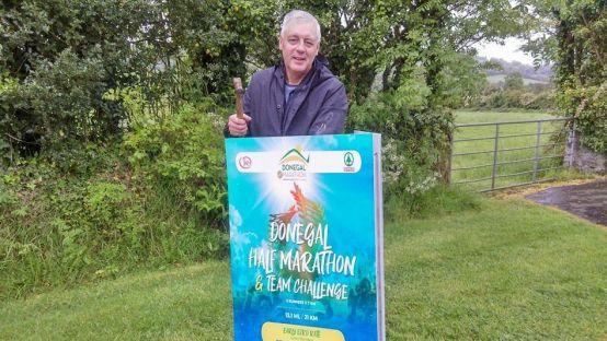 Donegal Half Marathon race director, Brendan McDaid