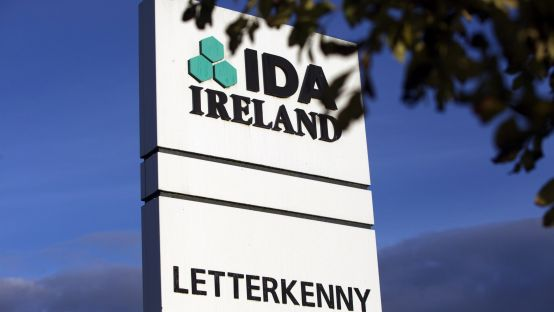 Image of IDA sign