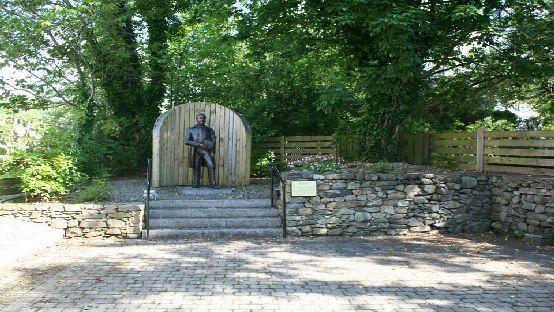 Isaac Butt monument Stranorlar