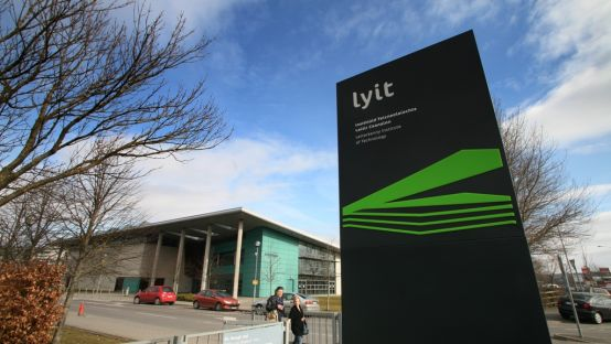 Image of LYIT sign