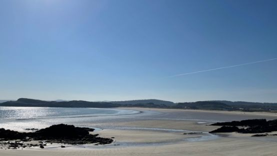 Marble Hill Beach, Co. Donegal one of the beaches recently awarded blue flag status