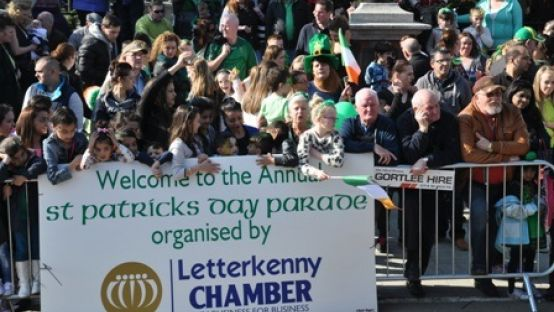 Family Fun at St. Patrick's Day Parades Countywide