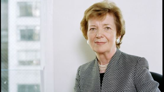 Portrait of Mary Robinson