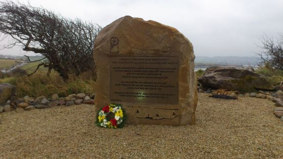 Photo of Memorial Stone at Bruckles