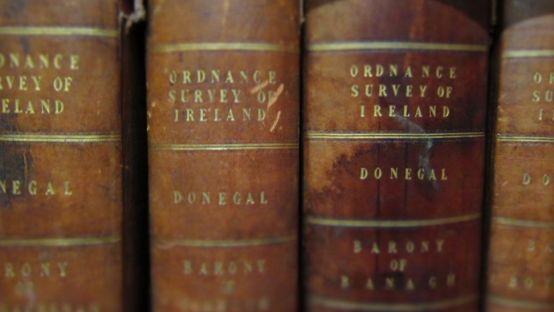 Image of old ordnance survey books