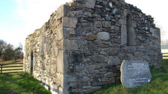 St. Colmcille's Chapel in Gartan is an archaeological monument that is protected under the National Monuments Acts and will undergo conservation works in 2021.