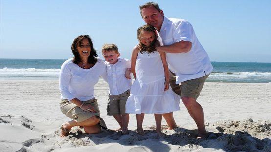 Sally Kane & her family