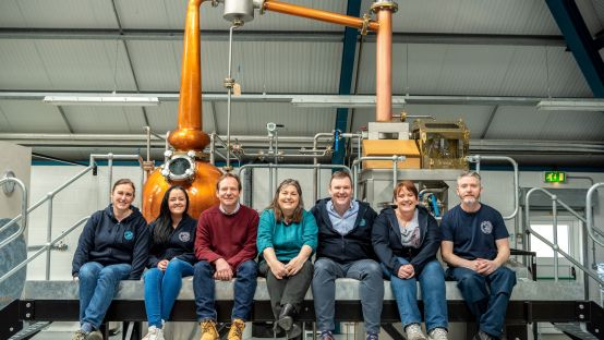 Sliabh Liag Distillers Answering Ireland's Call by Manufacturing Hand Sanitiser.