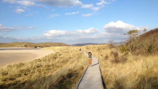 Image of walk at Ards forest Park