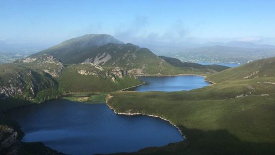 The Black lakes, Mulroy Bay courtesy of Mary Doherty