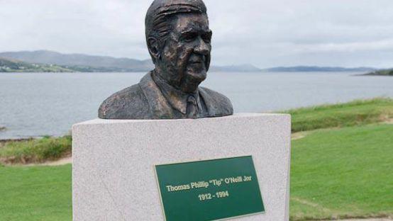 Tip O'Neill Monument Buncrana