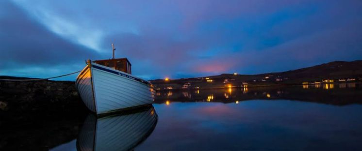 image of Sunday eve in Dunfanaghy by Sarah Sayers