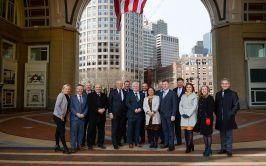 Delegates on the cross border Trade & Investment Mission to Philadelphia & Boston 2019 representing the Northwest