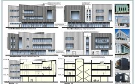 Plans for the new Alpha Building in Letterkenny
