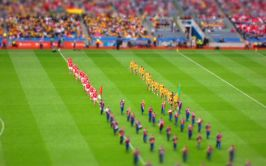 Image of Donegal lining out against Cork 2012