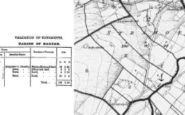 Image of Griffiths Valuation and old OS map