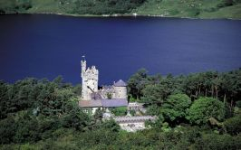 Aerial View of Glenveagh Castle