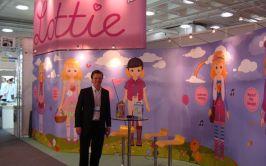 Image of Ian Harkin at Lottie Dolls stand