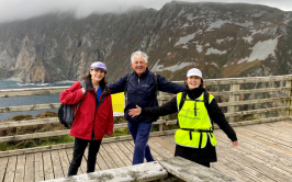 Join Peggy, Noel Cunningham, Deirdre Mc Glone and friends for the Donegal Camino 2021
