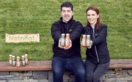 Derek and Anna Walker of Natnoot are growing their juice business with the help of an expansion grant from Donegal Local Enterprise Office