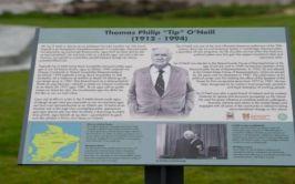 Tip O'Neill Plaque at Shore Front Buncrana