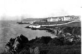 Black and White image of Moville