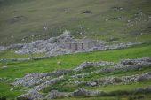 Image of Port, Donegal, deserted villageduring Famine