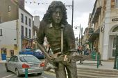 Image of Rory Gallagher statue, Ballyshannon