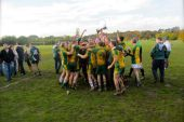 Image of Tir Conaill Harps celebrating a win on the pitch